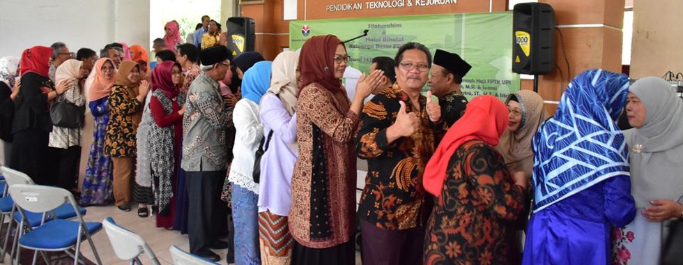 FPTK UPI selenggarakan Silaturahim & Halal Bihalal Hari Raya Idul Fitri 1 Syawal 1439 Hijriyah Tahun 2018