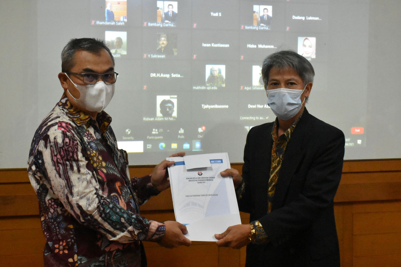 Serah Terima Jabatan Wakil Dekan bidang Akademik FPTK UPI