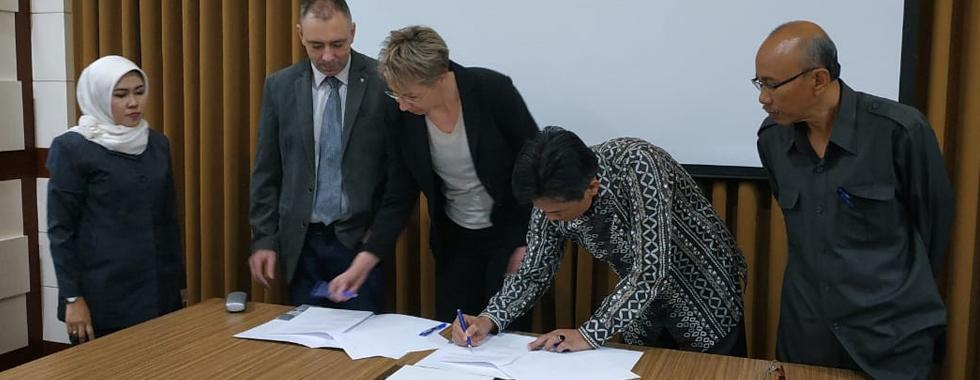 FPTK UPI dan Otto von Guericke University Magdeburg Germany Tandatangani Memorandum of Agreement (MoA)