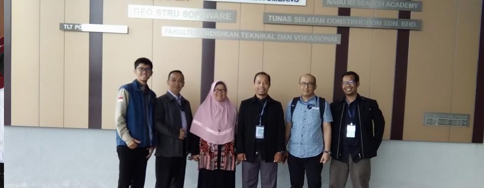 Perwakilan UPI mengikuti 2019 International Research Workshop di UTHM, Malaysia