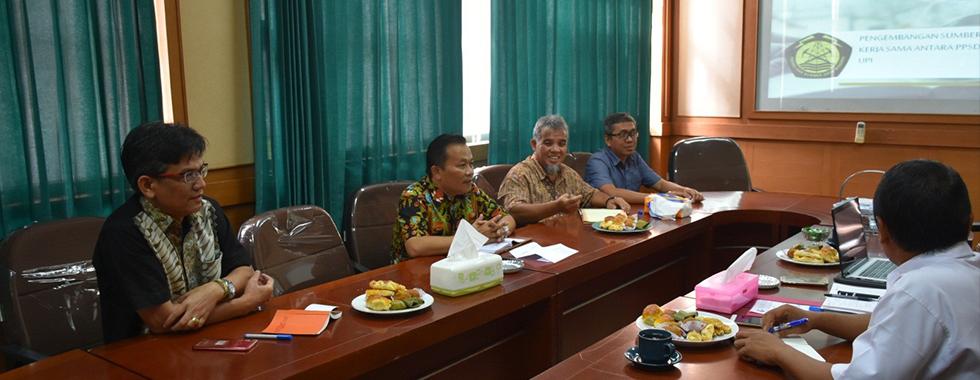 FPTK UPI Jalin Kerjasama Dengan Pusat Pengembangan Sumber Daya Manusia Minyak dan Gas Bumi Kementerian ESDM