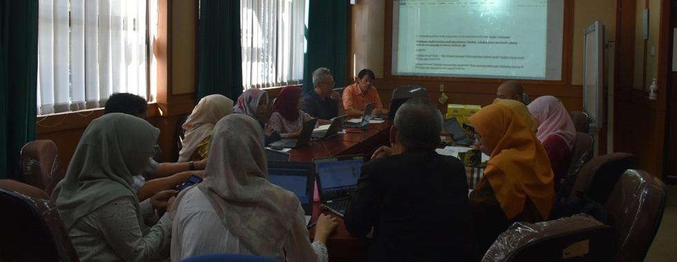 Workshop Penyusunan Profil Prodi Akreditasi Internasional AQAS