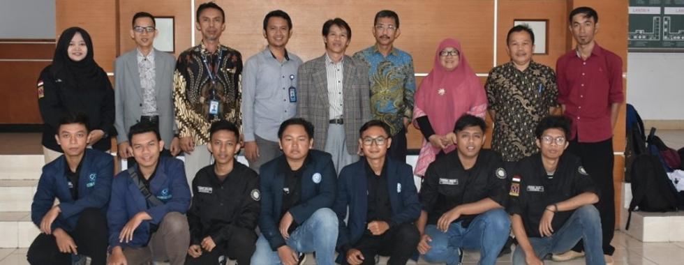 FPTK UPI Menerima Kunjungan Tim Mobil SULA mahasiswa Program Studi Pemeliharaan Mesin Politeknik Negeri Subang