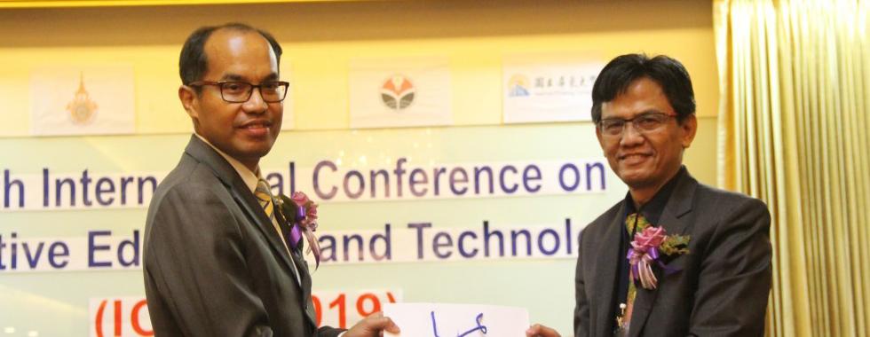 Dekan FPTK UPI menjadi Keynote Speaker di The 4th International Conference on Innovative Education and Technology, Thailand