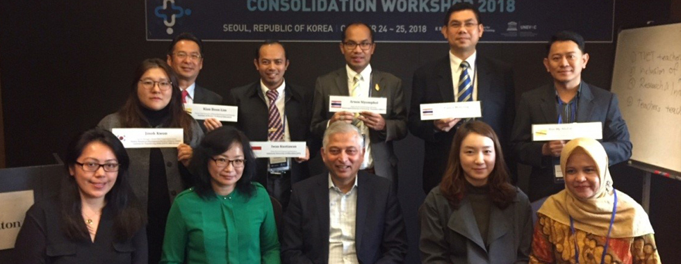 2018 East and Southeast Asia Cluster Network Consolidation Workshop