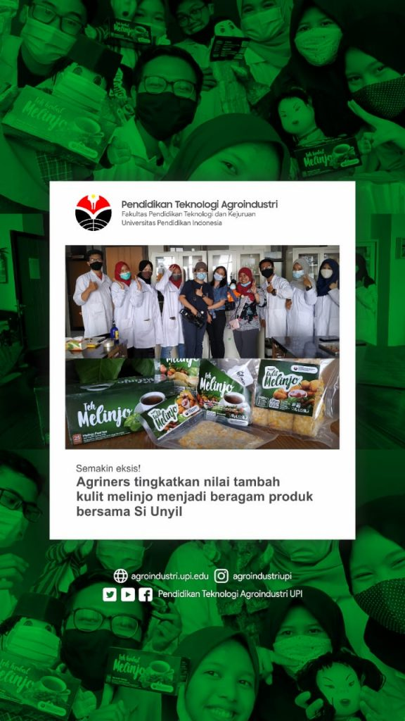 Hasil Karya Mahasiswa Program Studi Pendidikan Teknologi Agroindustri dari Limbah Menjadi Barang Bermanfaat