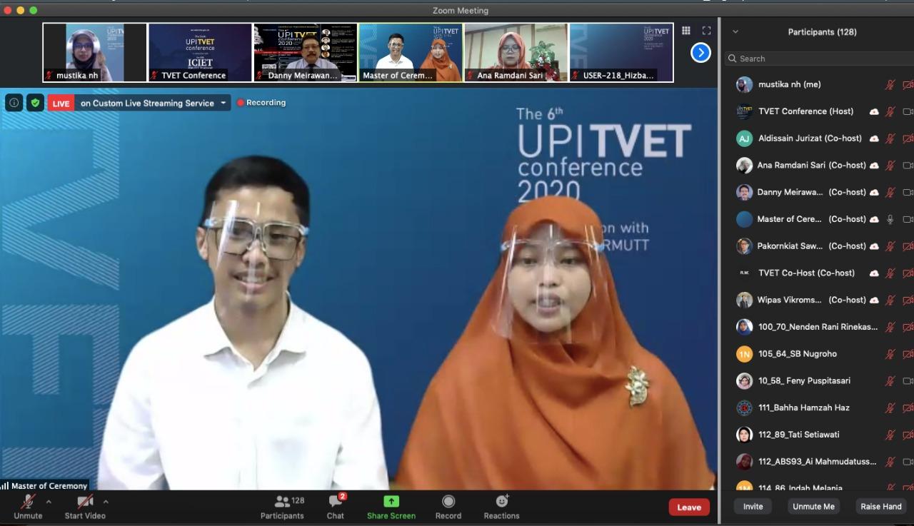 FPTK UPI Sukses Selenggarakan Online Joint - Conference on TVET