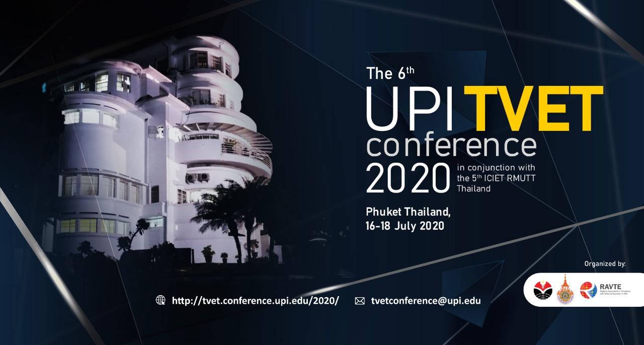 6th UPI International Conference on TVET