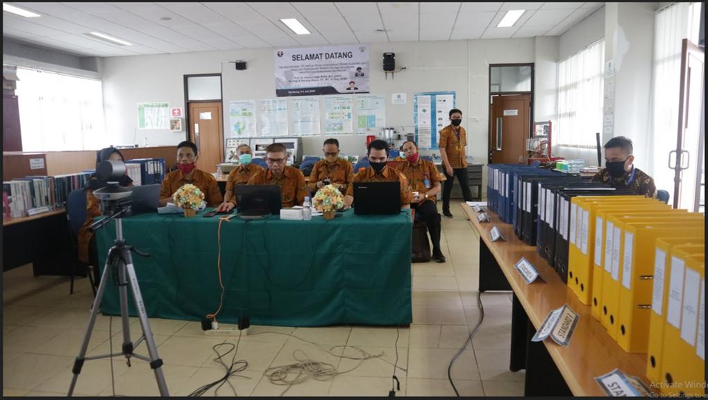 Pertama untuk Kampus di UPI, Program Studi Pendidikan Teknik Elektro FPTK UPI Jalani Akreditasi secara Online
