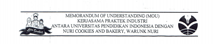MoU antara FPTK UPI dan Nuri Cookies and Bakery