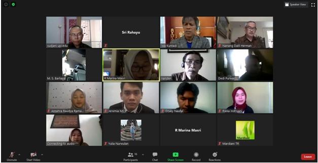 Prodi Pendidikan Teknik Bangunan Gelar Ujian Sidang Sarjana Secara Online