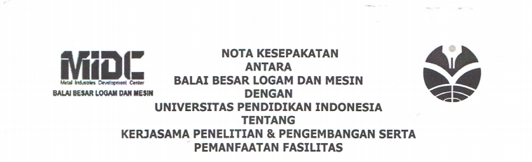 Cooperation Agreement Between Metal Industries Development Center  and UPI