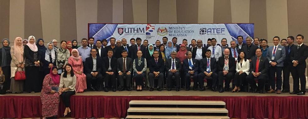 Dekan FPTK UPI Utus Dosen FPTK Hadiri ATEF 2018
