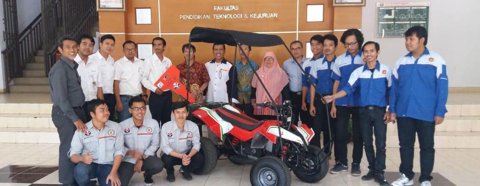 ATV Listrik Buatan Mahasiswa Resmi diluncurkan untuk Pertamina