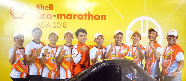 Tim Bumi Siliwangi Team 4 (Universitas Pendidikan Indonesia) di Ajang Shell Eco-Marathon Asia 2018