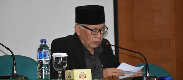 Dr. KH. Dudung Rahmat Hidayat, M.Pd. : Hasbunallah Wani'mal Wakil Ni'mal Maula Wani'man Nasir.