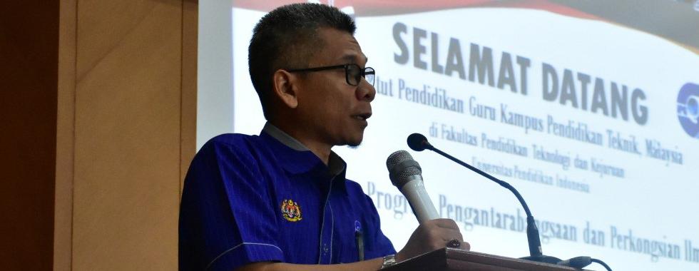 FPTK UPI Terima Kunjungan IPG Kampus Pendidikan Teknik, Malaysia