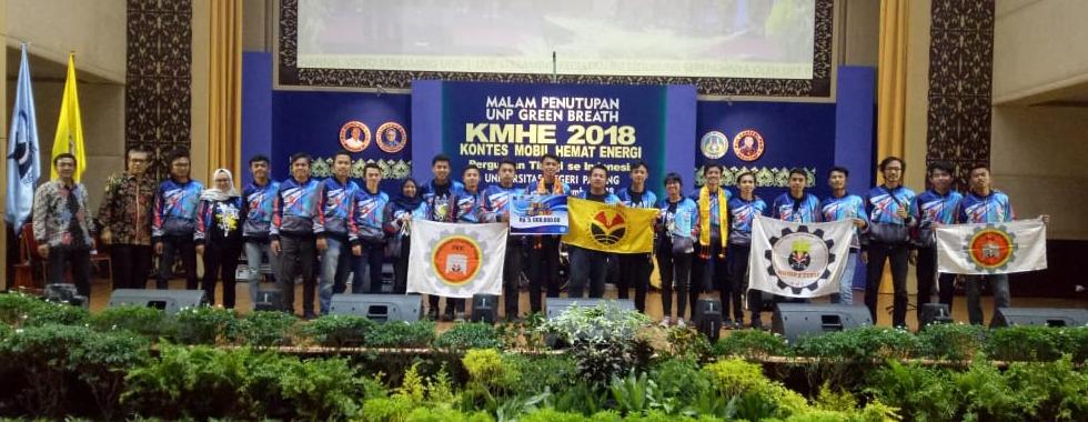 UPI Raih Juara Kontes Mobil Hemat Energi (KMHE) Tahun 2018