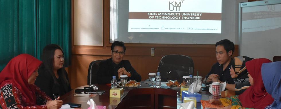 FPTK UPI Terima Kunjungan dari KMUTT, Thailand