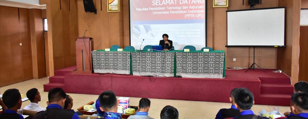 SMK Negeri 1 Bunga Mayang Lakukan Kunjungan Industri di Kampus FPTK UPI