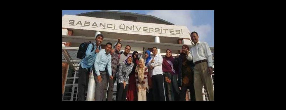 Short Term Training Pranata Laboratorium Pendidikan ke Fakultas Teknik dan Ilmu Pengetahuan Alam Universitas Sabanci, Turki
