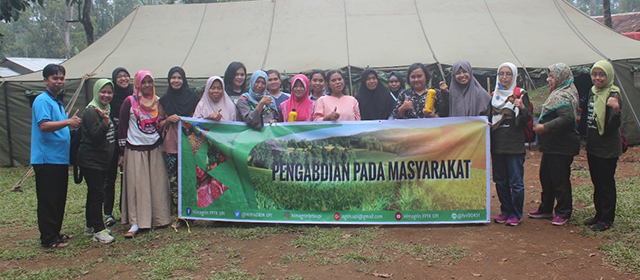 Pengabdian pada Masyarakat Anggota Muda HIMAGRIN FPTK UPI Bersama Masyarakat Cicadas, Subang