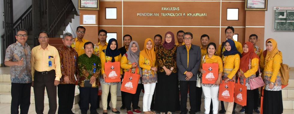FPTK UPI Terima Kunjungan dari Fakultas Teknik Universitas Negeri Semarang