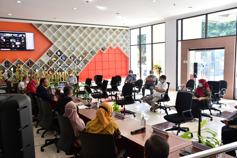 Kunjungan Akselerasi pencapaian Program kerja Wakil Rektor bidang Pendidikan dan KemahasiswaanUPI ke FPTK