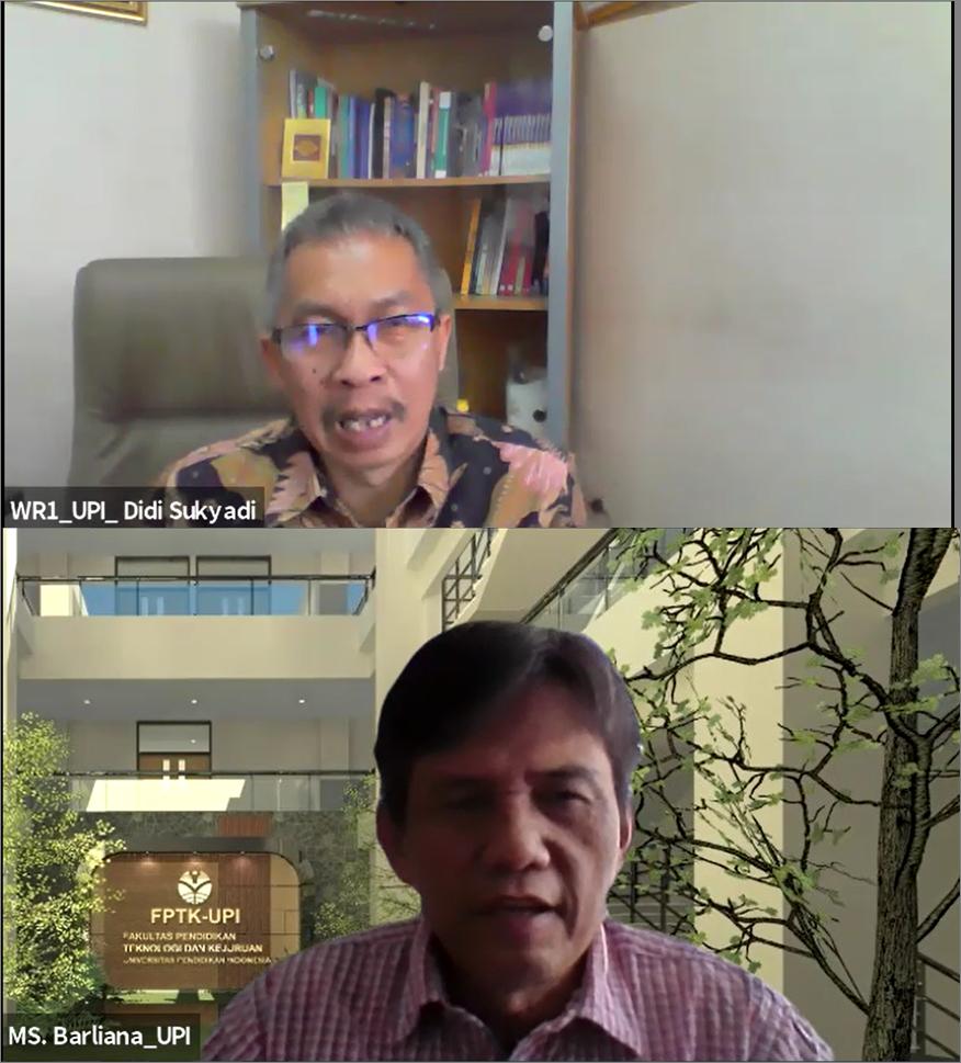 Pembahasan Kerjasama MBKM antara FPTK UPI-FT UNJ dan FPTK UPI - FT UNY
