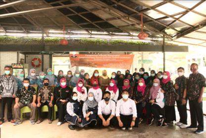 Tim PkM Prodi Pendidikan Tata Boga selenggarakan kegiatan Pengabdian kepada Masyarakat: Pengembangan Wisata Kulindes Berbasis Pangan Lokal