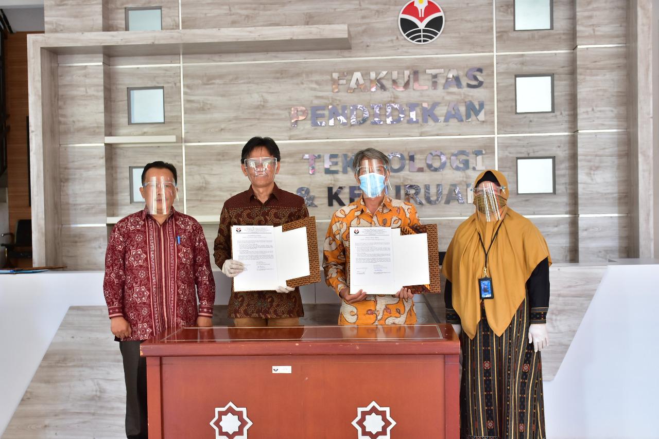 FPTK UPI Laksanakan Sertijab Dekan Ditengah Pandemi COVID-19