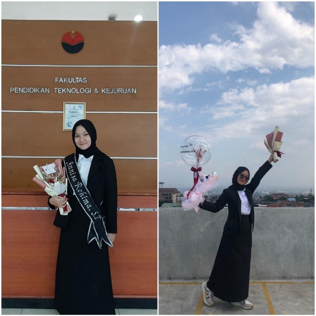 Annisa Rohima, Wisudawan Terbaik Program Studi Teknik Sipil Ikuti Program Magang Mahasiswa Bersertifikat di BUMN