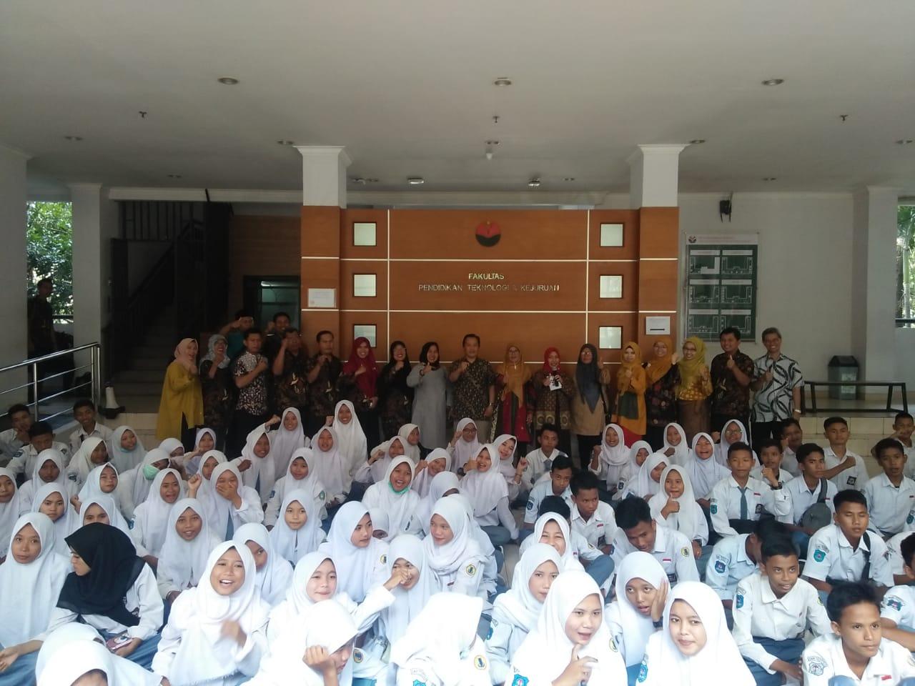 FPTK UPI Terima Kunjungan SMKN 1 Tanara