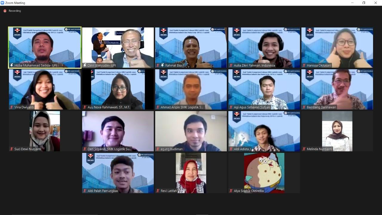 Prodi Teknik Logistik FPTK UPI Sukses Selenggarakan kegiatan Pengabdian kepada Masyarakat : Siapkan Lulusan Unggul Bersama SMK Logistik Sumedang