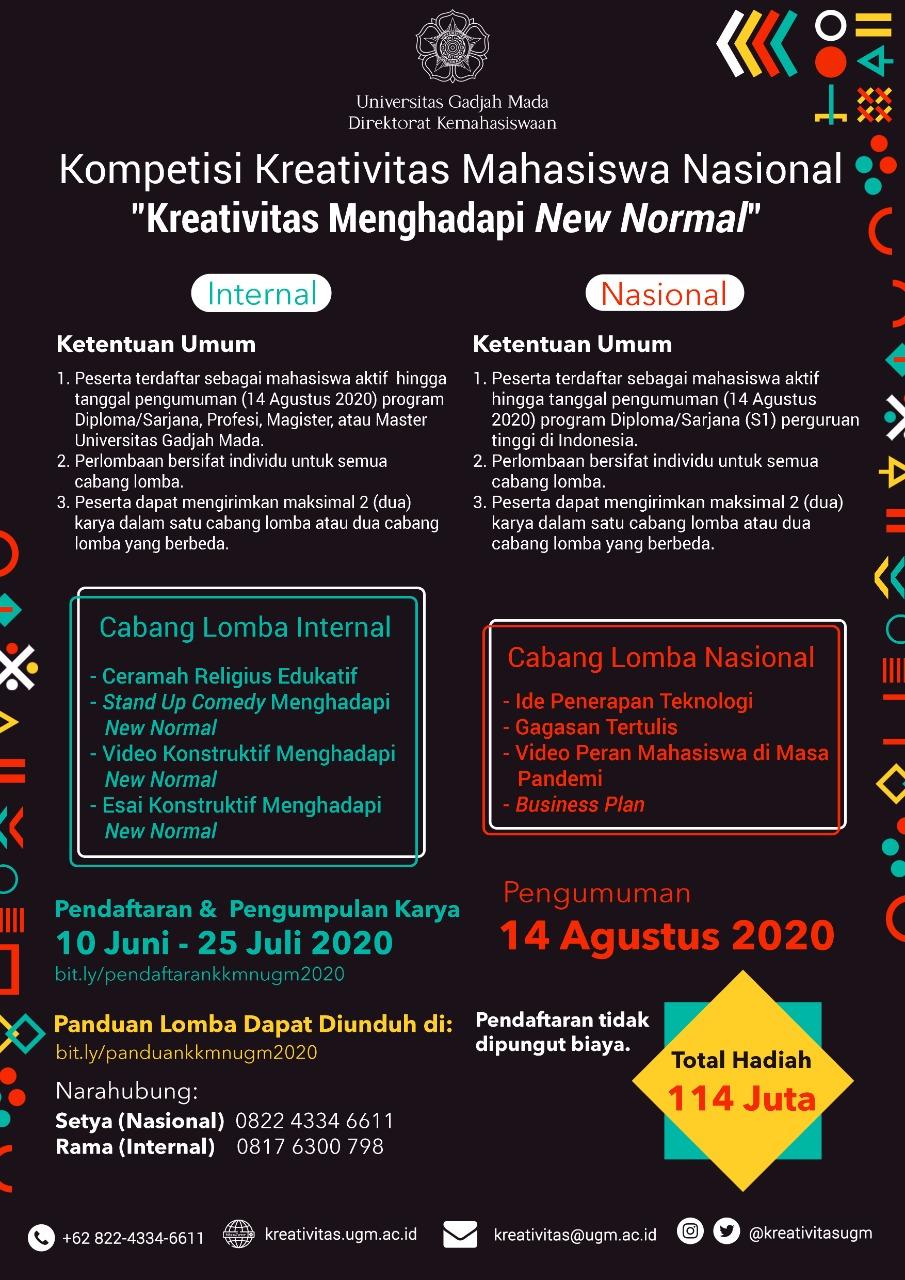 Kompetisi Kreativitas Mahasiswa Nasional